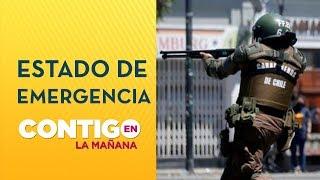 RESUMEN: Denuncian abusos y excesos de agentes del Estado en Chile - Contigo en La Mañana