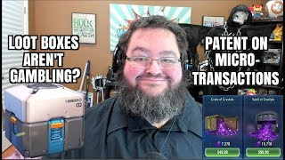 Loot Boxes NOT Gambling? Patent on Microtransactions! Ign Buys Humble Bundle