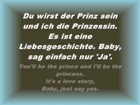 Taylor Swift - Love Story (Deutsche Übersetzung und Lyrics)