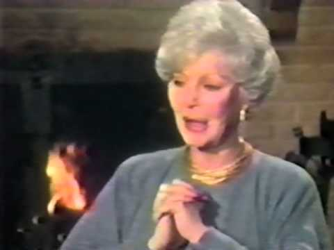 Loretta Young  with Entertainment This Week, December 21, 1986