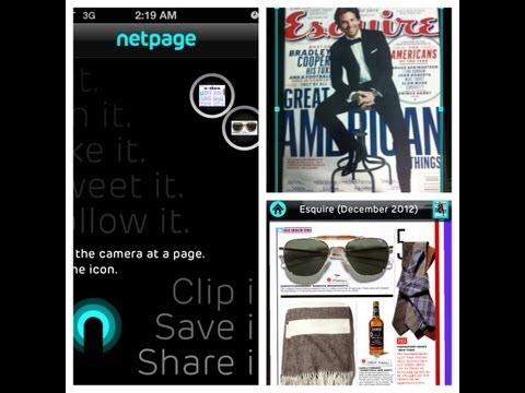 Netpage™ x Esquire Magazine Review on Men