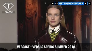 Donatella Versace Goes Nineties New York with Versus Spring/Summer 2018 | FashionTV | FTV