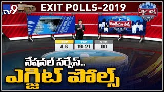 Exit poll results 2019 AP Verdict split between YCP and TDP TV9