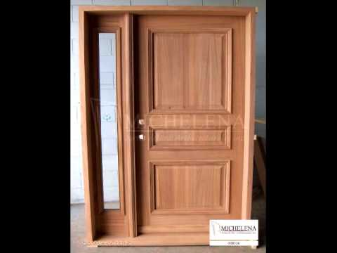 Portes de bois ext rieures exterior wood doors youtube for Porte en bois