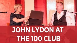 John Lydon QA Live at The 100 Club full interview