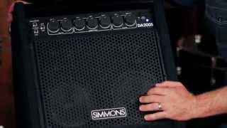 Simmons DA200S Electronic Drum Monitor