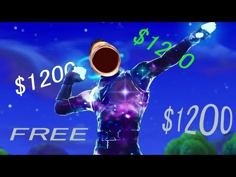 How to get the galaxy skin on Fortnite