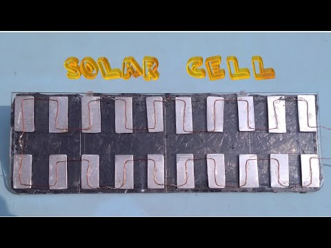 How to make Solar Cell....