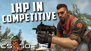 Competitive CS:GO But Everyone Has 1HP