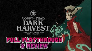 Court of the Dead: Dark Harvest Playthrough & Review | Bidding souls to appease the Underworld!
