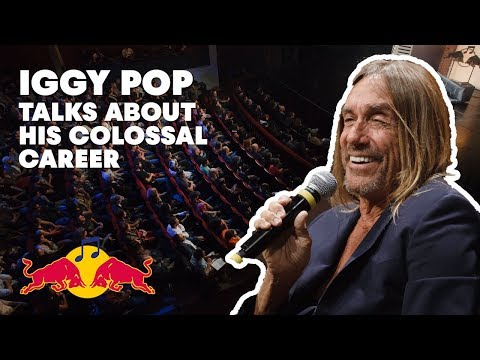 Iggy Pop Lecture (Montréal 2016) | Red Bull Music Academy