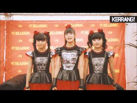 BABYMETAL - All the Interviews from Reading and Leeds Festivals 2015 SUBTV, KERRANG, NME