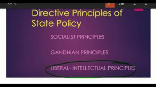 Directive Principles State Policy