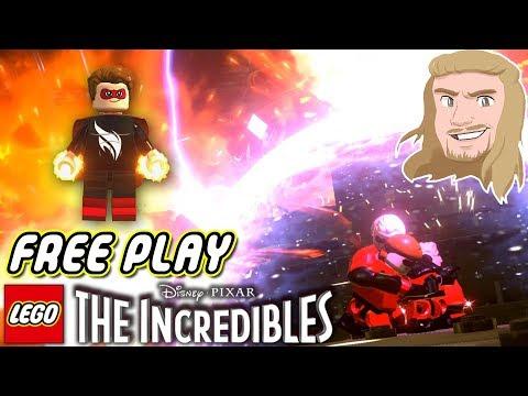 Free Play och Ny Superhjälte | LEGO The Incredibles | del 28