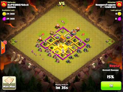 Draw Out And Kill Clan Castle Defense - Clash Of Clans