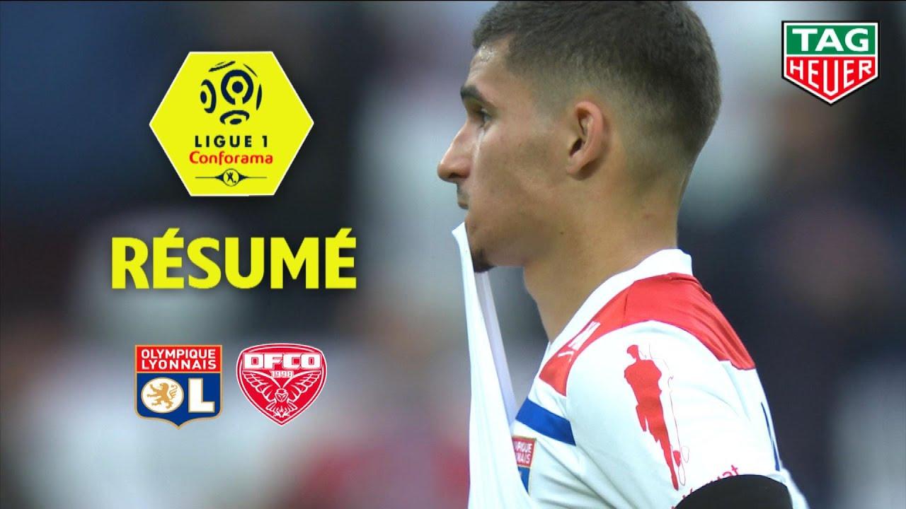 Olympique Lyonnais - Dijon FCO ( 1-3 ) - Résumé - (OL - DFCO) / 2018-19