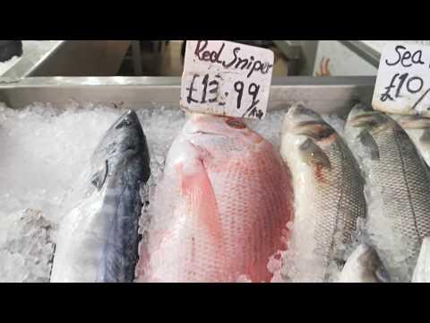 হাউন্সলো কোয়ালিটি ফিশ শপ | Hounslow Quality Fish Market | Fresh Fish UK