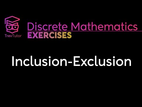 [Discrete Math 2] Inclusion Exclusion Problems