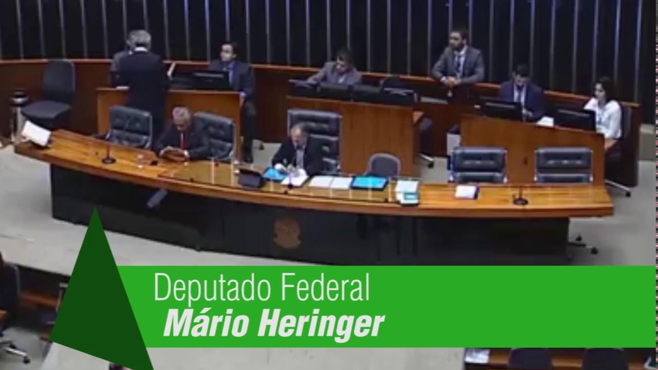 Deputado Federal Mario Heringer - Se Manifesta contra a importação de café