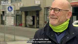 Winfried Hermann Im Gespräch Mit Cem Özdemir über Verkehrspolitik Und Die Mobiliätswende