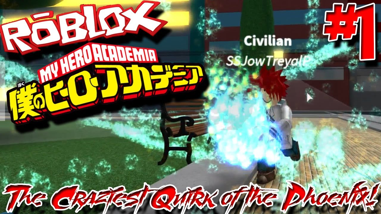 THE CRAZIEST QUIRK OF THE PHOENIX!   Roblox: Blox no Hero