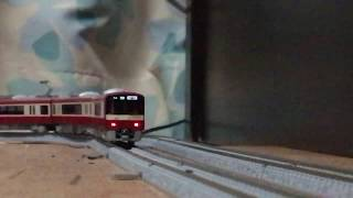 (鉄道模型) GM 名鉄1801F+KATO 京急2141F