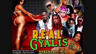 DANCEHALL MIX DJ GAT REAL GYALIS  NOVEMBER 2018 FT VYBZ KARTEL/AIDONIA/ALKALINE/CHILLAA