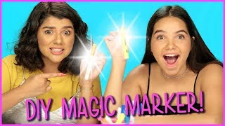 DIY MAGIC MARKER?! | DIY or DI-Don't w/ Life After Quince Shany & Airam