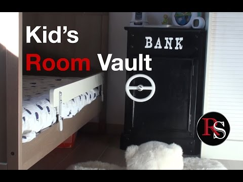 DIY - Making A Kid's Room Safe From An Old Bedside Table