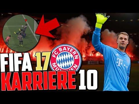 WTF NEUER ! DAS BEHINDERTSTE GEGENTOR !! | FIFA 17 Karrieremodus Fc Bayern (Deutsch) #10