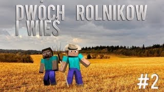 Minecraft ''Dwóch rolników i wieś'' - Dom w skale?! #2