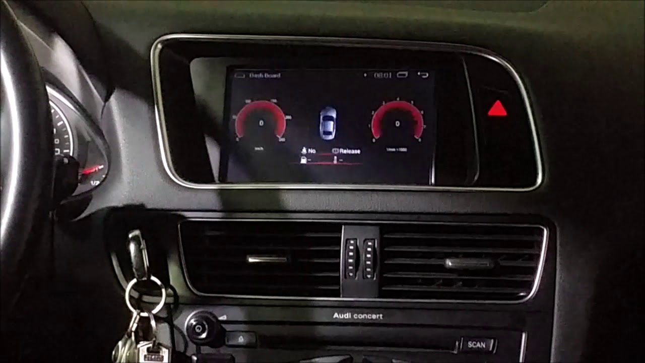radio navegador dvd audi a4 b8 a5 y q5 android quad. Black Bedroom Furniture Sets. Home Design Ideas