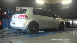 VW Golf 6 1.6 tdi 105cv Reprogrammation Moteur @ 144cv Digiservices Paris 77 Dyno