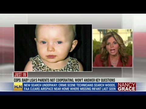 Cops: baby Lisa's parents not talking - YouTube