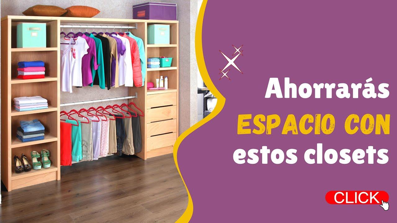 Download DESCUBRE 10 DISEÑOS DE CLOSETS ECONÓMICOS PARA AHORRAR ESPACIO Y ORDENAR DE FORMA INTELIGENTE