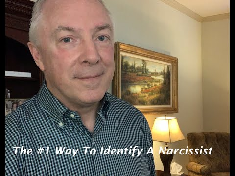 The #1 Way To Identify A Narcissist