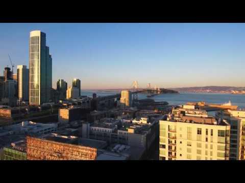 Bird S Eye Tour Of South Beach Soma Area Over San Francisco Ca