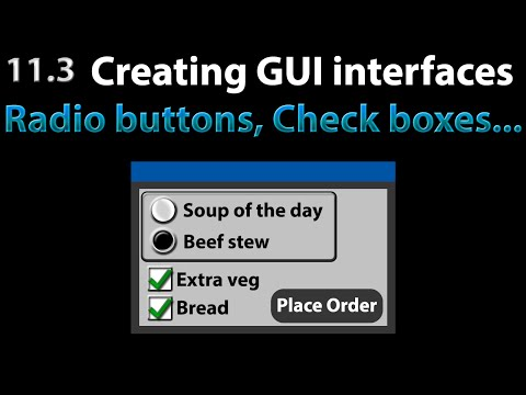 AutoIt Scripting Tutorial 11 3 The GUI : Radio buttons & Check boxes to  make choices