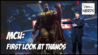 First Look At Thanos From D23! His Official Look For Infinity War? How Much Marvel Will Be At D23??