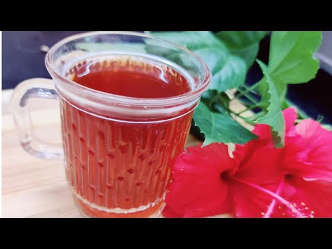 Hibiscus Tea For Weight Loss - Herbal Remedy For Get Younger Glowing Skin & Regular periods