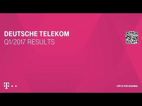 Deutsche Telekom's Q1-2017 investor conference call