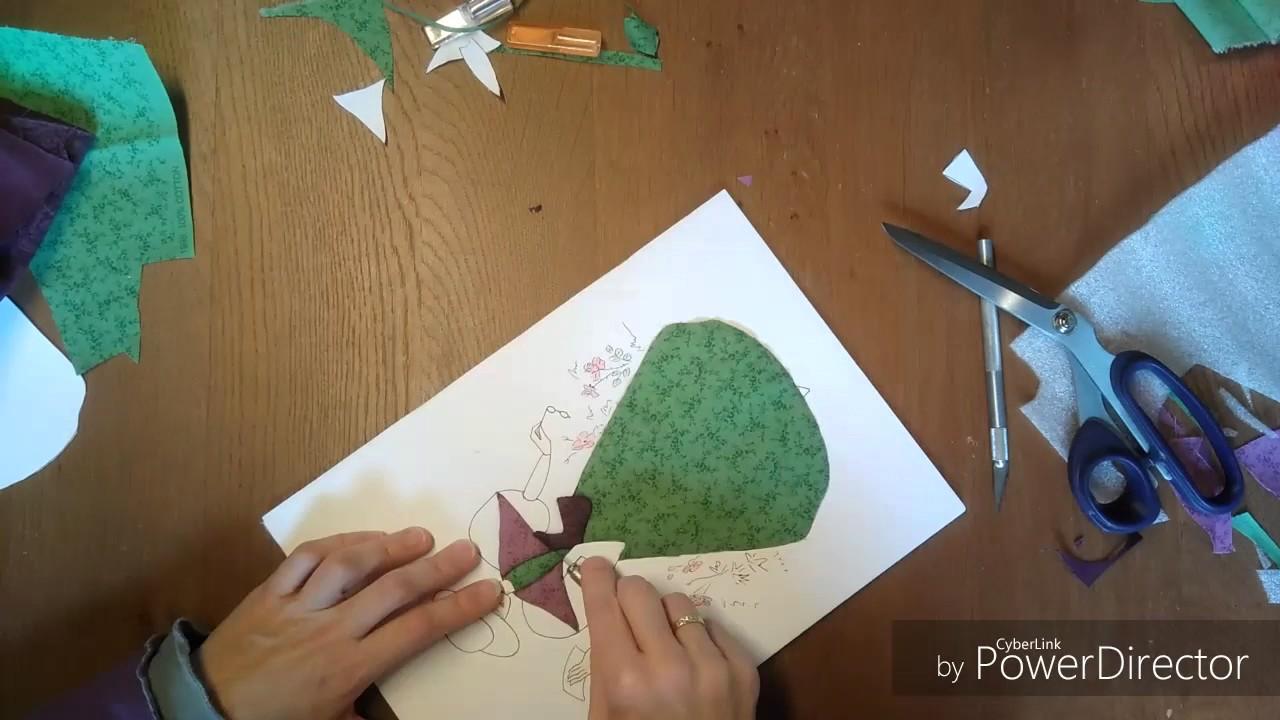 Comment Faire Un Tableau Avec Du Tissu carton mousse hd