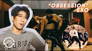 """Download Performer React to EXO """"Obsession"""" Dance Practice + MV"""