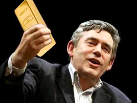 Why Gordon Brown Sold half of Britain's Gold too cheaply – Brown's Bottom