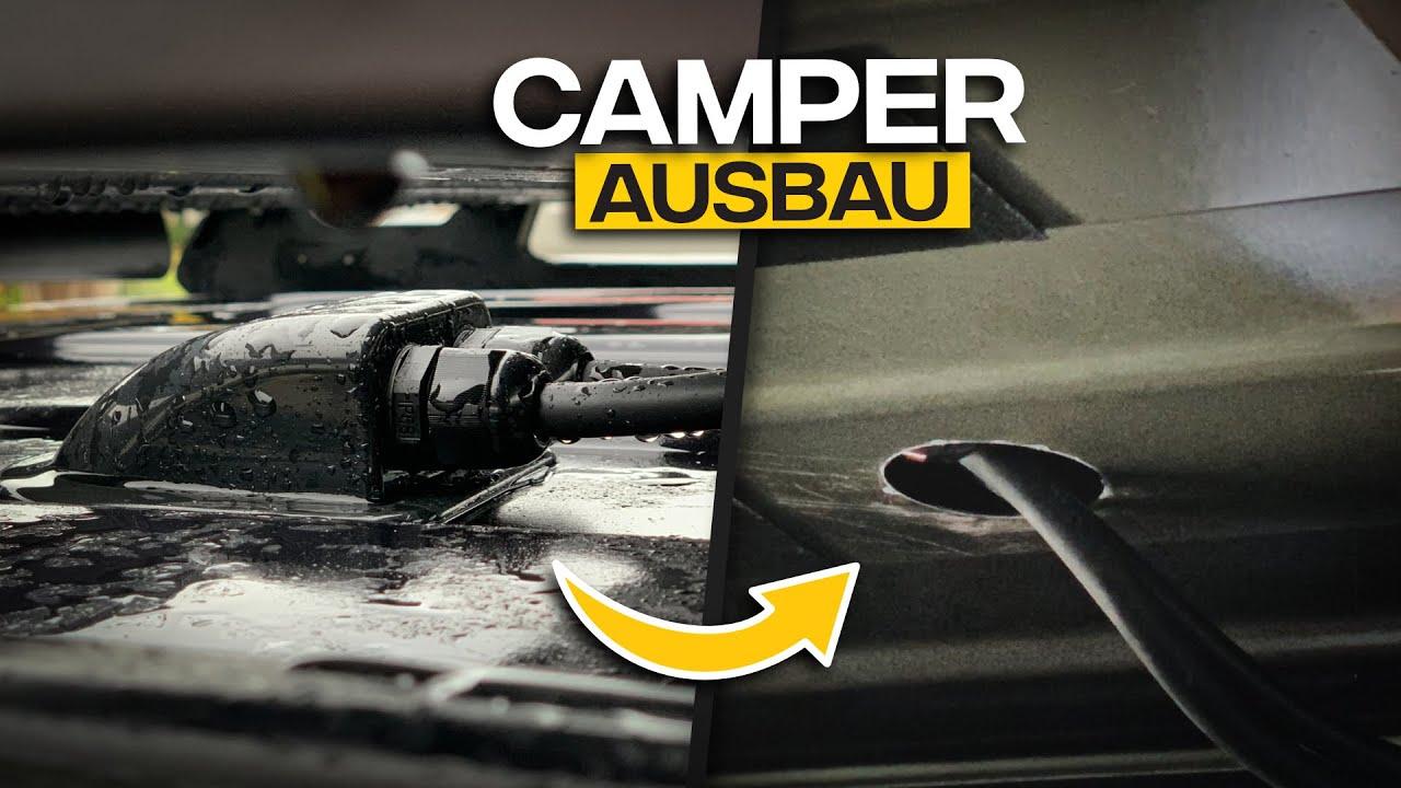 Dachdurchführung Camper/Wohnmobil selber machen - VW T6 Kombi - Tom Siesing