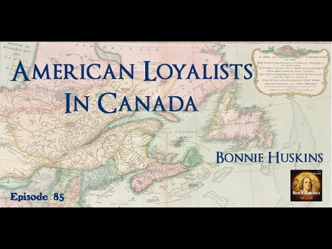 085 American Loyalists in Canada