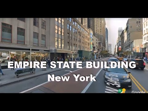 Around Empire State Building New York Street View Youtube
