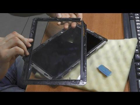 Разбито стекло сенсора / Замена тачскрина. Планшет Prestigio PMP7100D3G