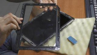 разбито стекло сенсора / Замена тачскрина. Планшет Samsung Galaxy Tab 3 7.0 SM-T211