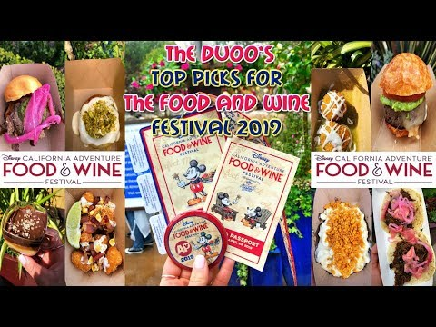 FOOD & WINE FESTIVAL 2019 TOP PICKS with The Duoo!